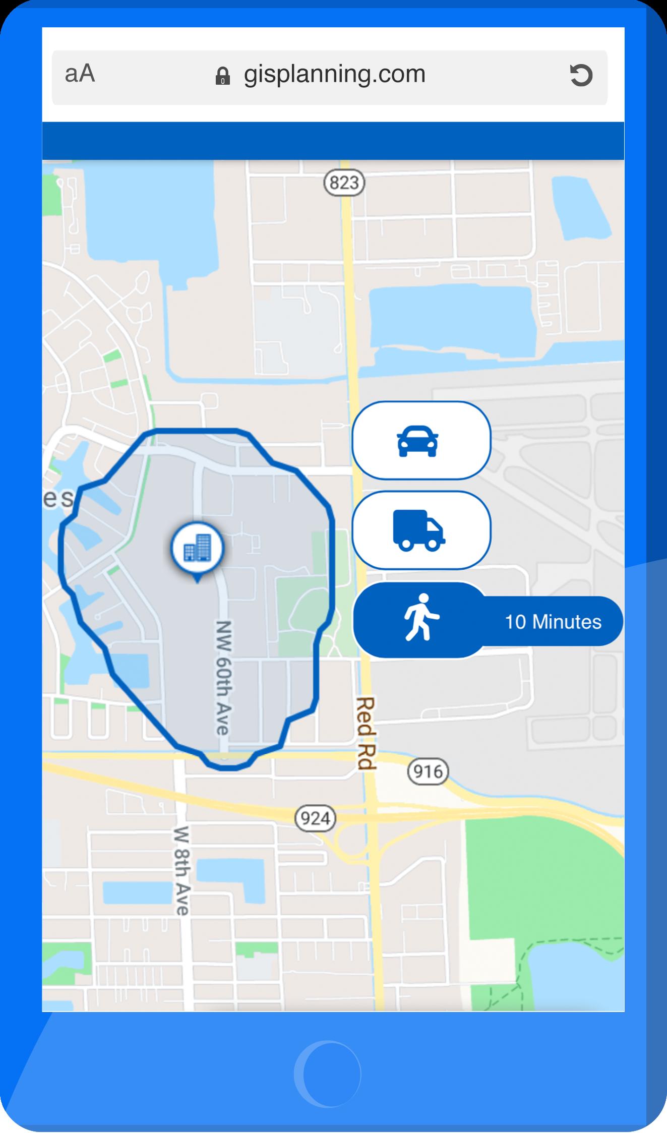 Walk Distance Interactive Mobile
