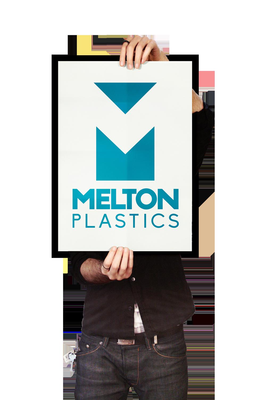Melton Plastics logo Skein Agency digital design marketing Glasgow