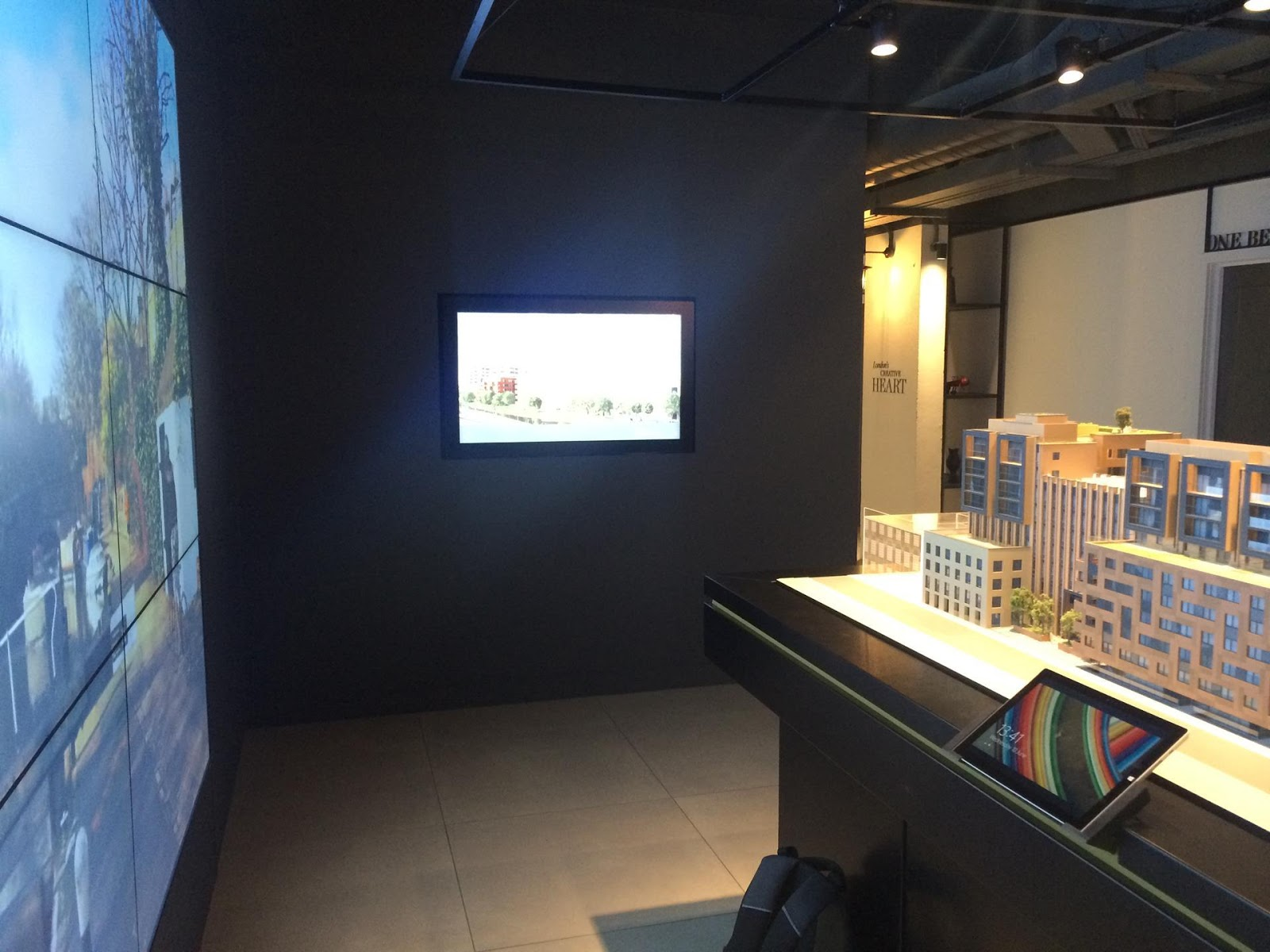 View on every Interactive Multi-touch devices used in the showroom