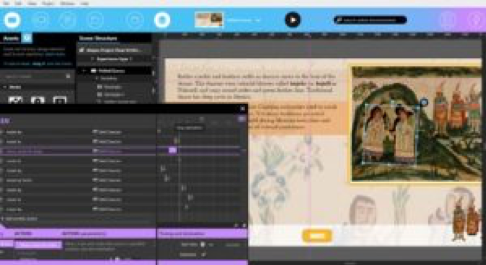 Intuiface Composer for the University of Oregon Museum of Natural and Cultural History