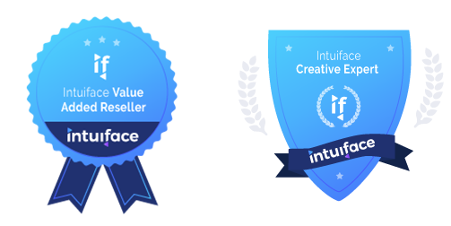 Partner's Badges : Value Added Reseller and Creative Expert