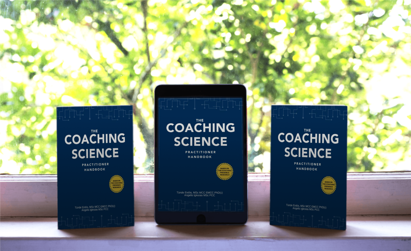 Welcome to a virtual book launch event The Coaching Science Practitioner Handbook  on the 8th of May, 2020