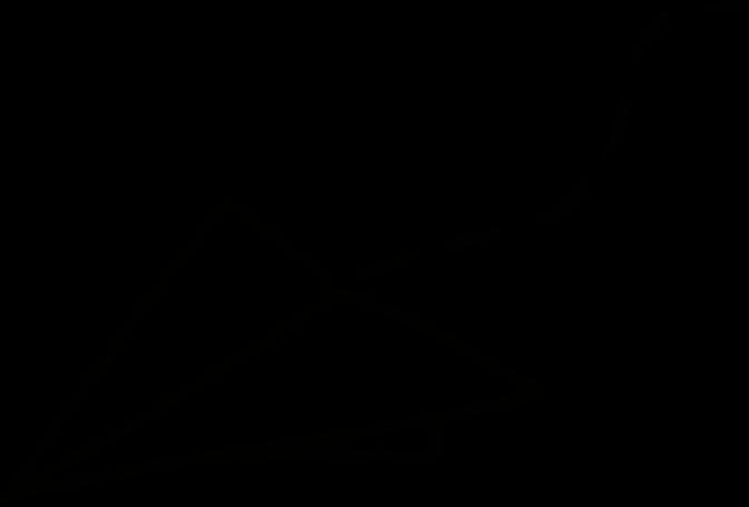 Ilustrace papírové vlaštovky
