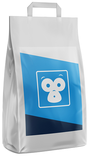 Pet care label printing image