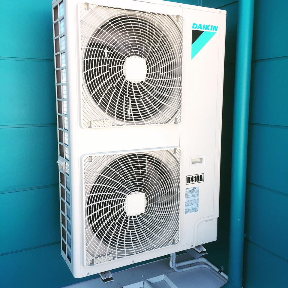 Split System Air Conditioning Fans
