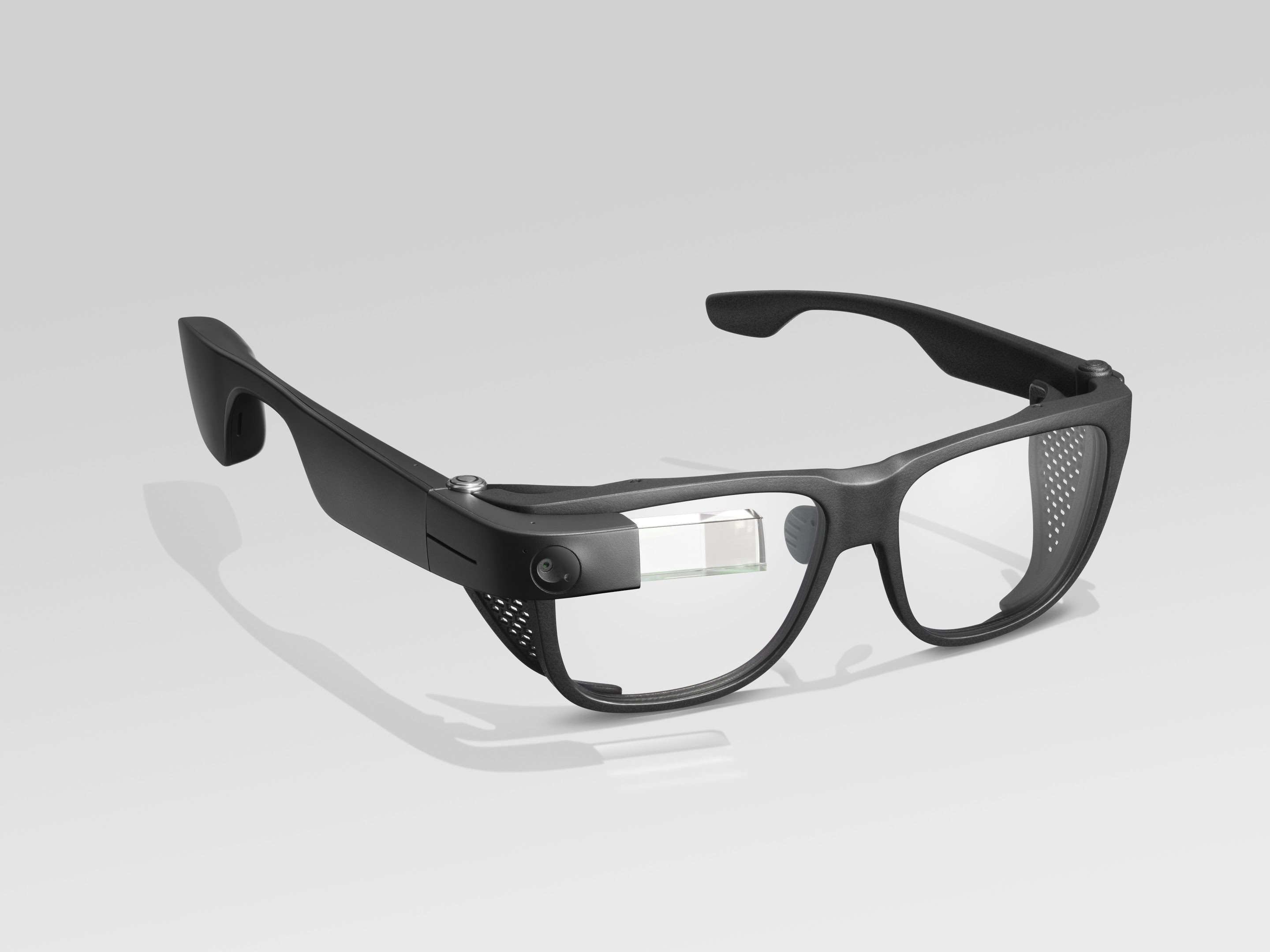 Picture of the Google Glass with Smith Optics Frame