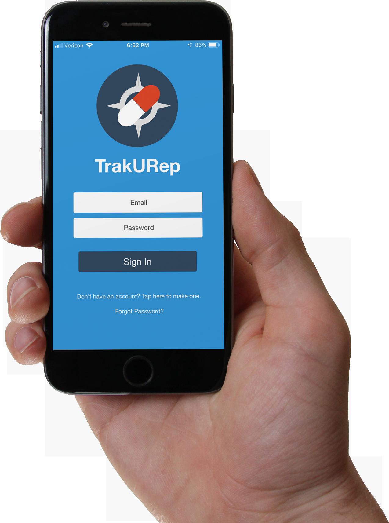 TrakURep App