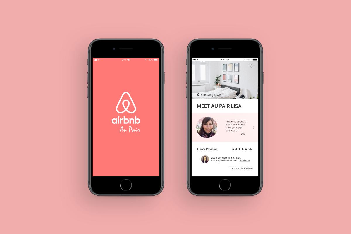 Airbnb Au Pair Mockups