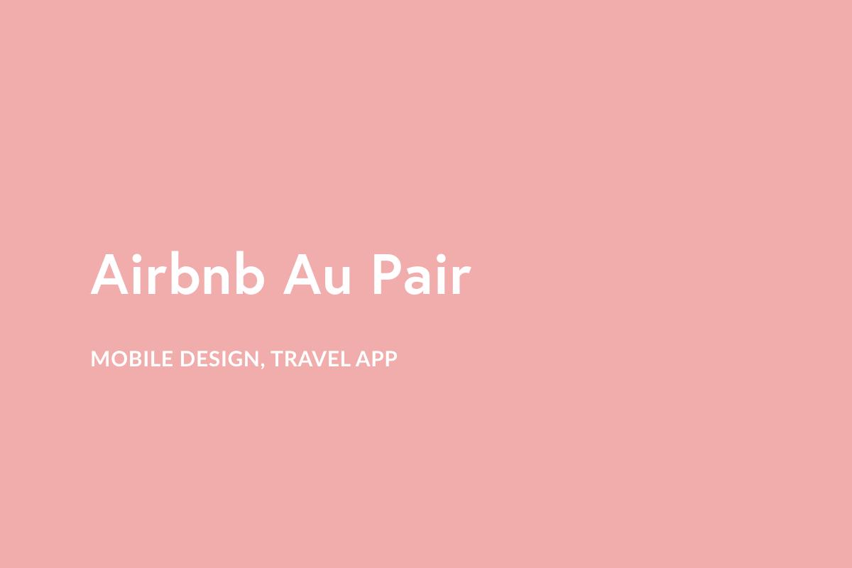 Airbnb Au Pair