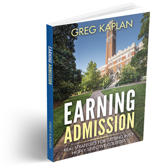 Earning admissions book