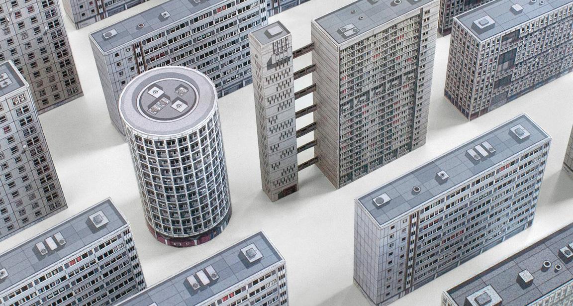 Brutal London by Zupagrafika: Brutalist Tower Blocks