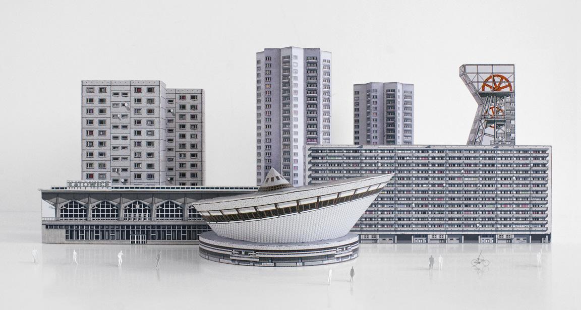 Blokowice by Zupagrafika: Build Your Own Modernist Katowice