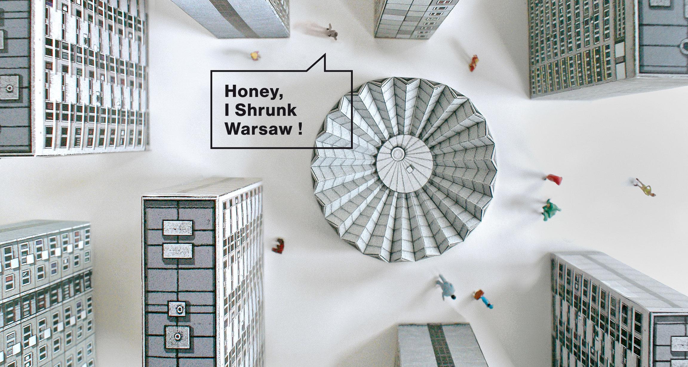 Blok Wschodni by Zupagrafika:Build Your Own Post-war Modernist Warsaw