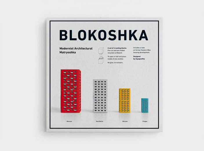 Blokoshka: The Mini Soviet Modernist Architecture Matryoshka