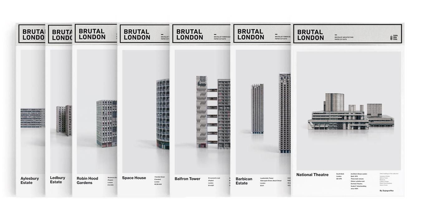 Brutal London Set x 7