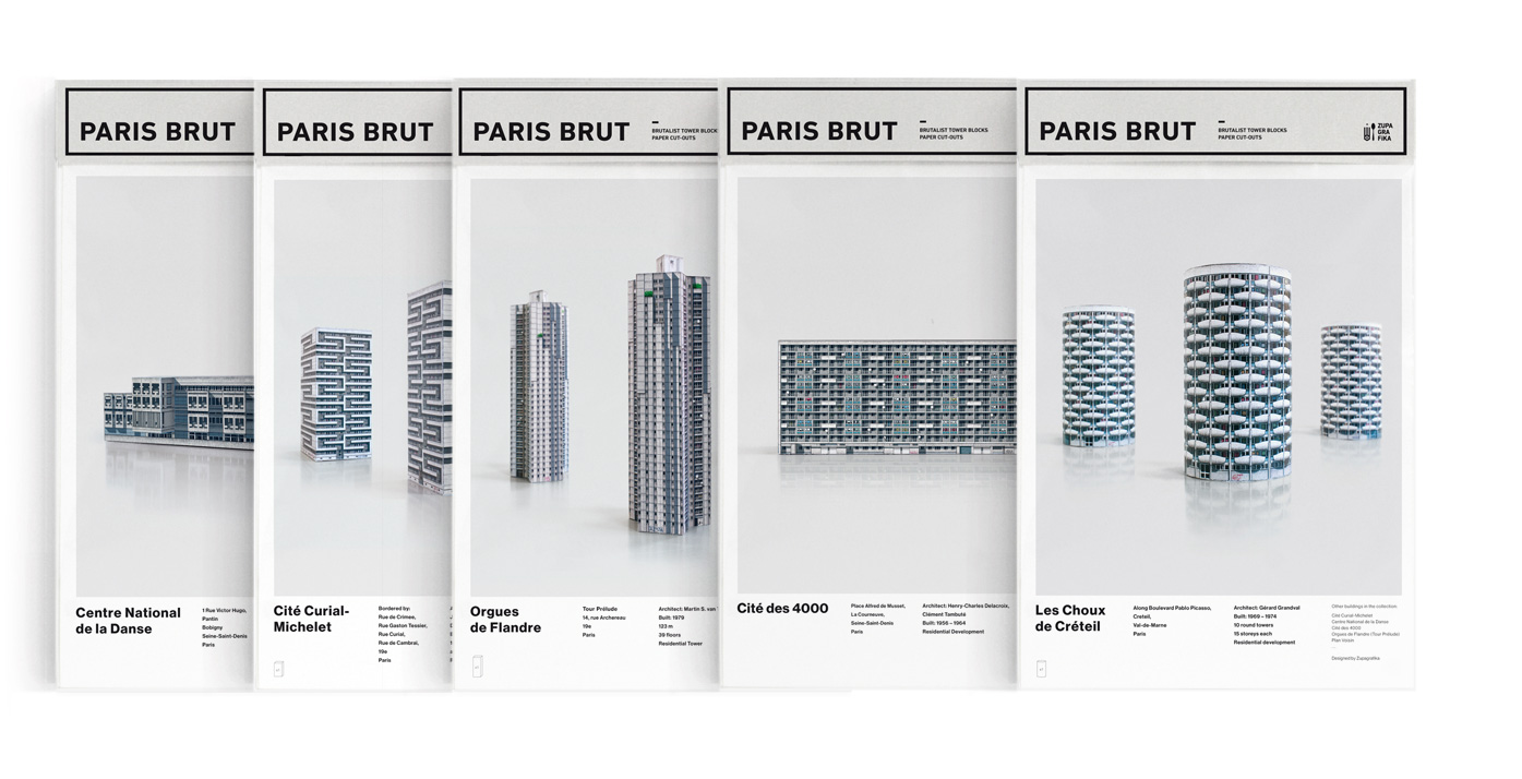 Paris Brut Set x 5