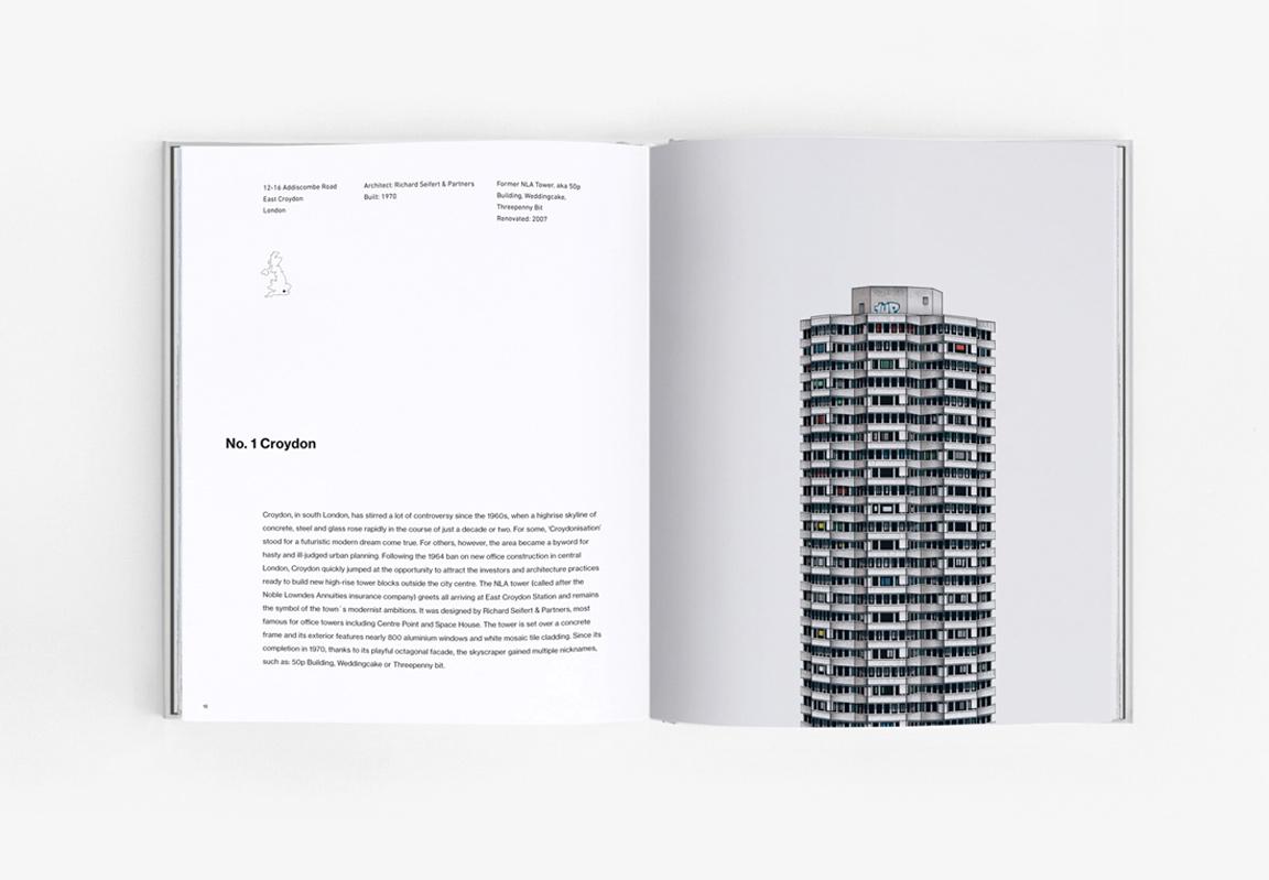 Mini Croydon Brutalist n. 1 tower block