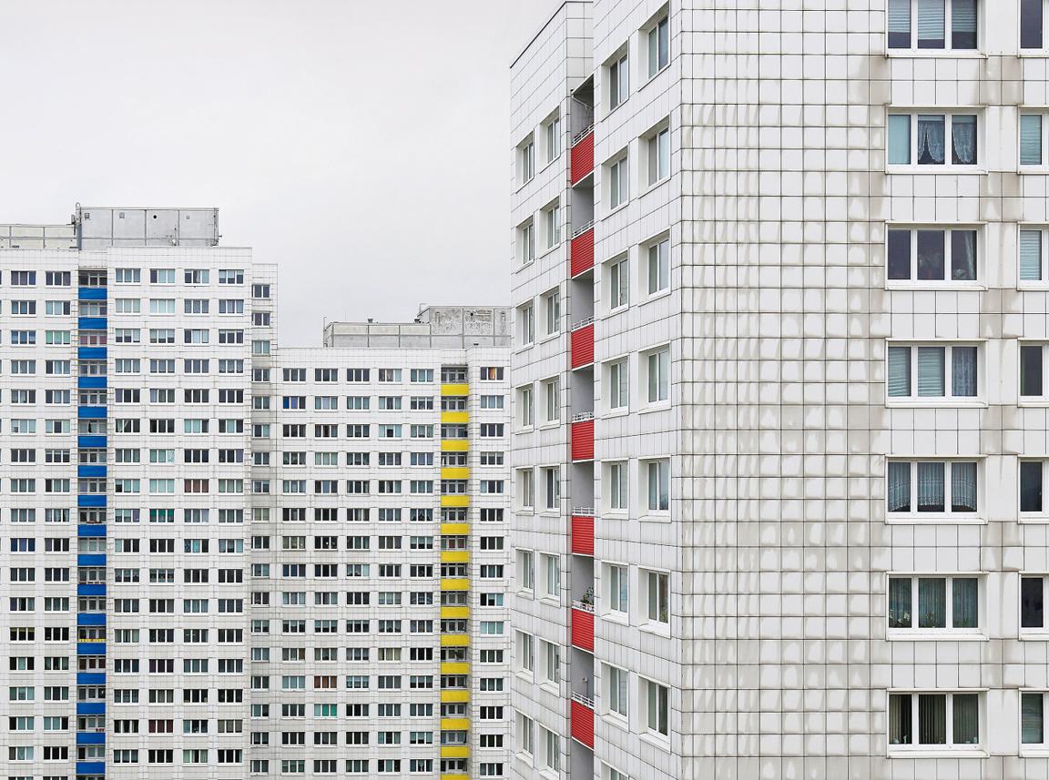 Lichtenberg housing estate in Berlin