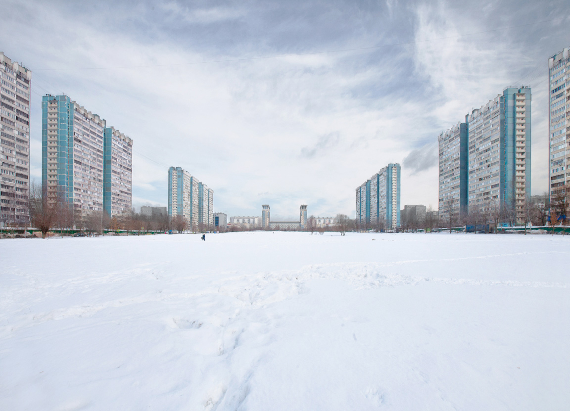 Yasenevo housing complex in Moscow