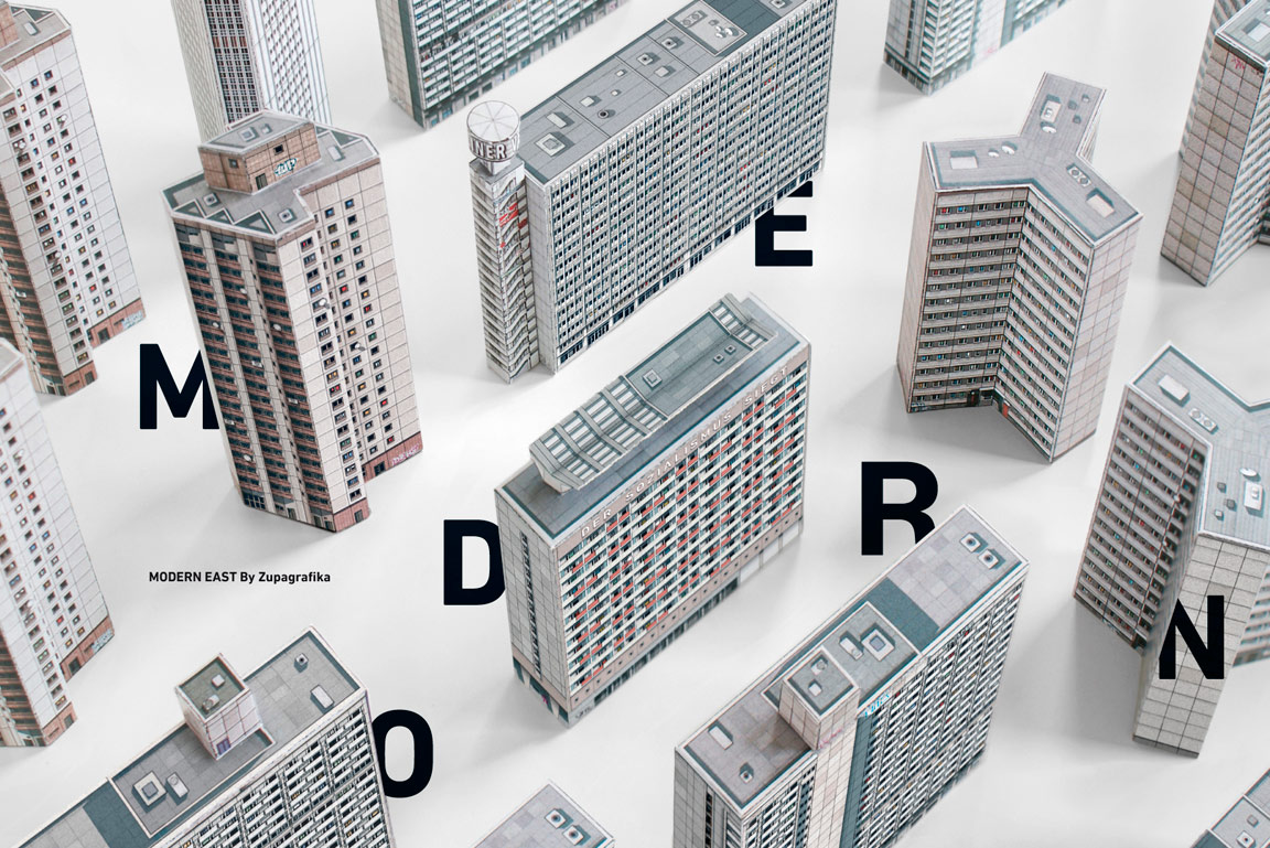 Modern East: Build Your Own Modernist DDR by Zupagrafika