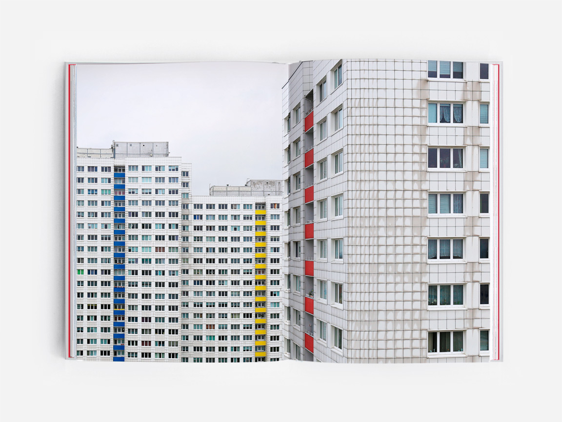 Berlin Lichtenberg, featured in the book Eastern Blocks: Concrete Landscapes of the Former Eastern Bloc by Zupagrafika.