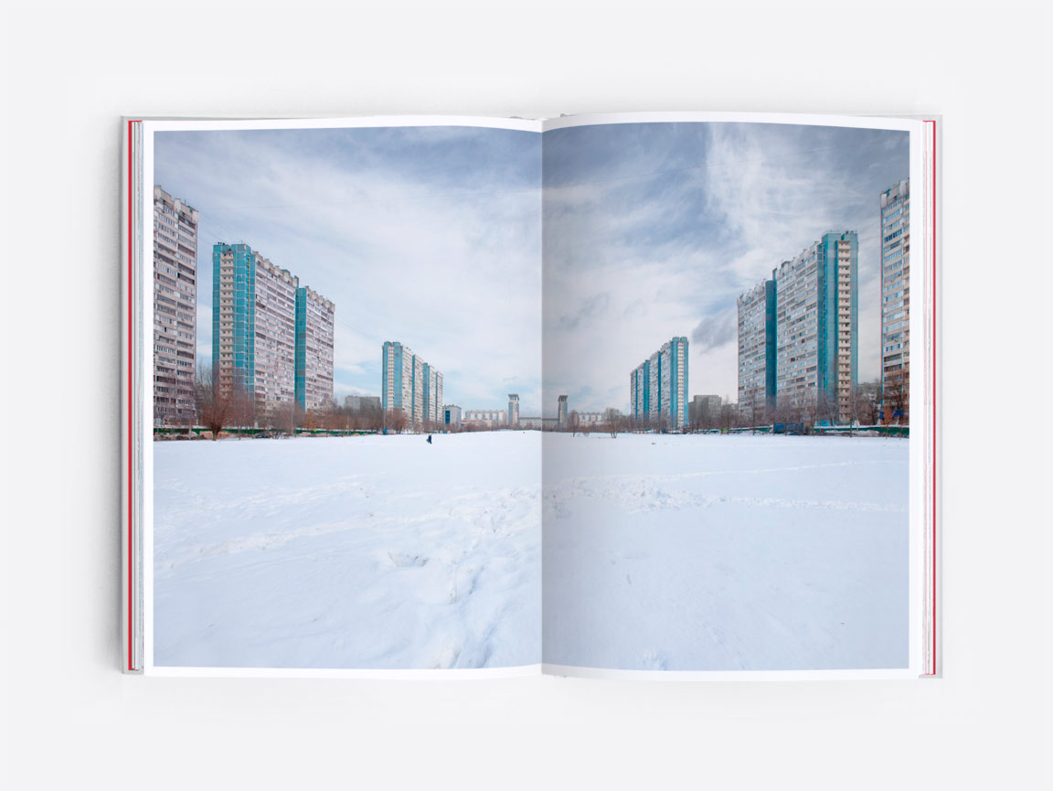 Housing estate in Moscow, as  featured in the book Eastern Blocks: Concrete Landscapes of the Former Eastern Bloc by Zupagrafika.