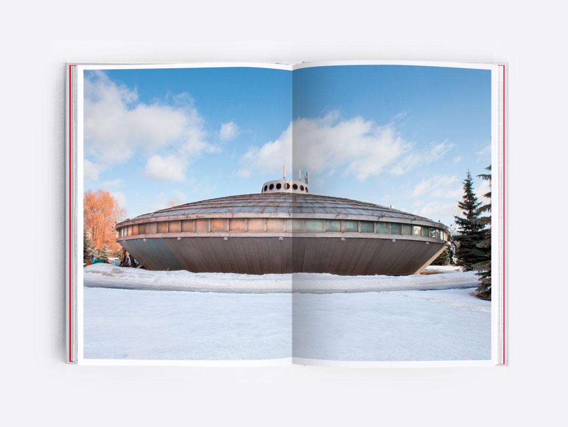 Soviet-era Ufo in Moscow
