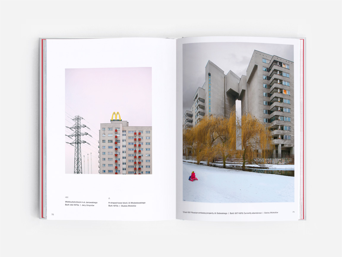 Socialist modernism in Warsaw, as featured in the book Eastern Blocks: Concrete Landscapes of the Former Eastern Bloc by Zupagrafika.