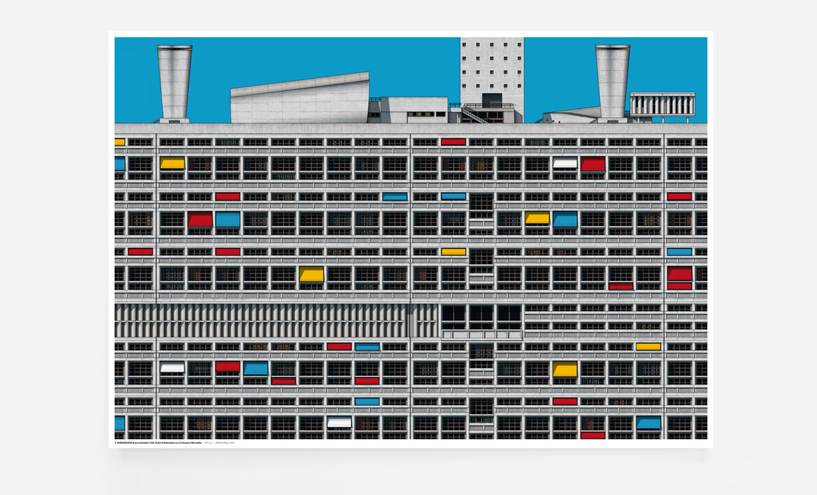 Unité d'Habitation : Le Corbusier