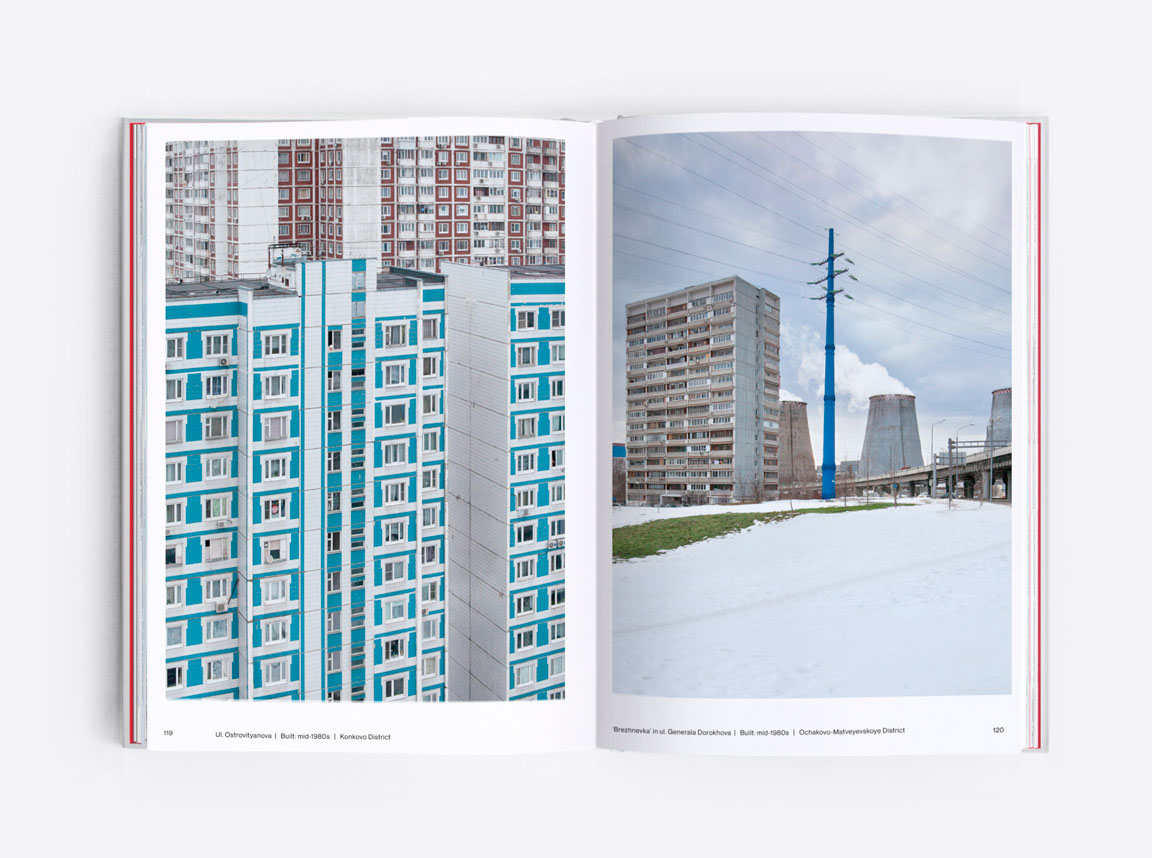 Soviet landscapes of Moscow. Panelki blocks in the suburbs of the Russian capital. Eastern Blocks by Zupagrafika.