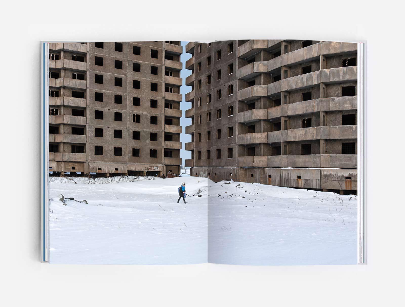 Panelki in Oganer microrayon ofNorilsk (Concrete Siberia, Zupagrafika)