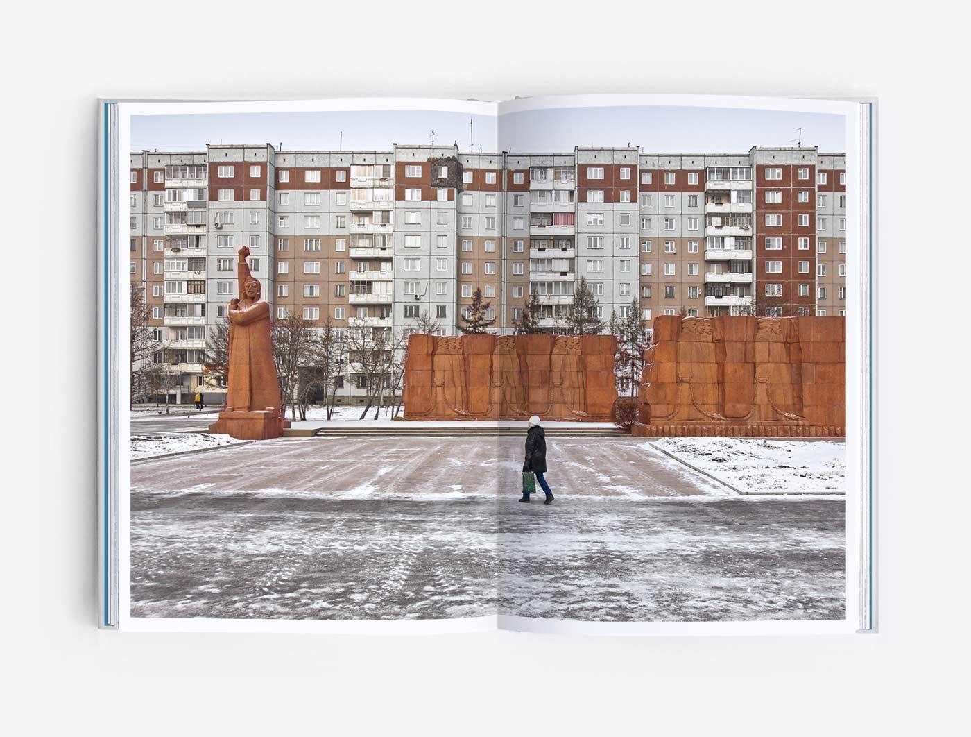 "Political prisioners monunment ""Siberian Convict Way"" in Krasnoyarsk, Siberia"
