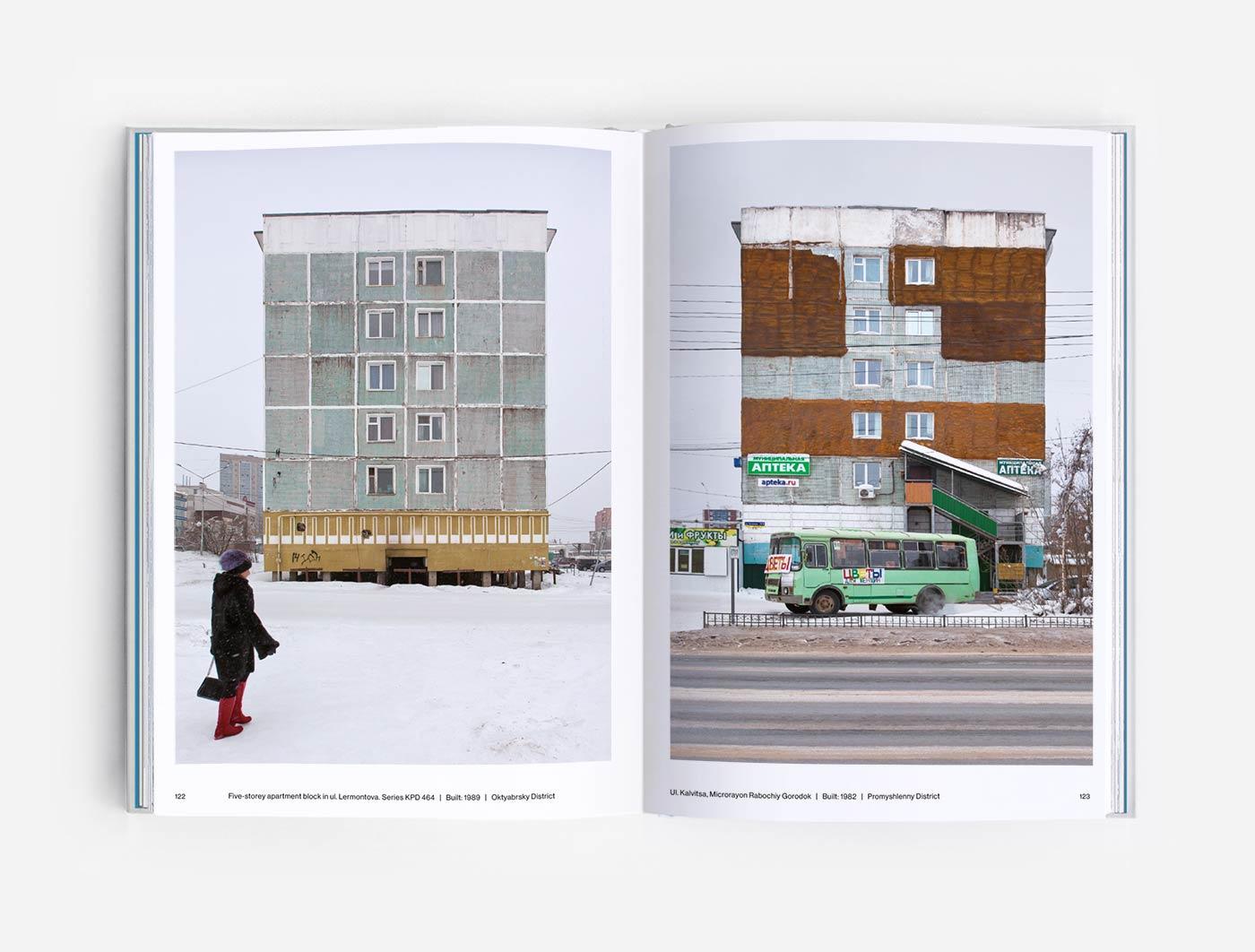 Khrushchevki in Yakutsk, Yakutia, Sakha Republic
