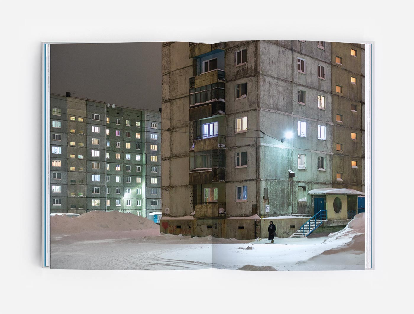 Soviet-era landscapes of Norilsk, Siberia