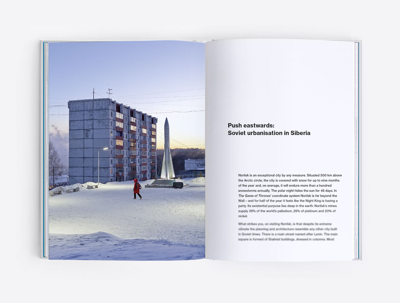 Soviet urbanisation in Siberia. Foreword of the photobook Concrete Siberia