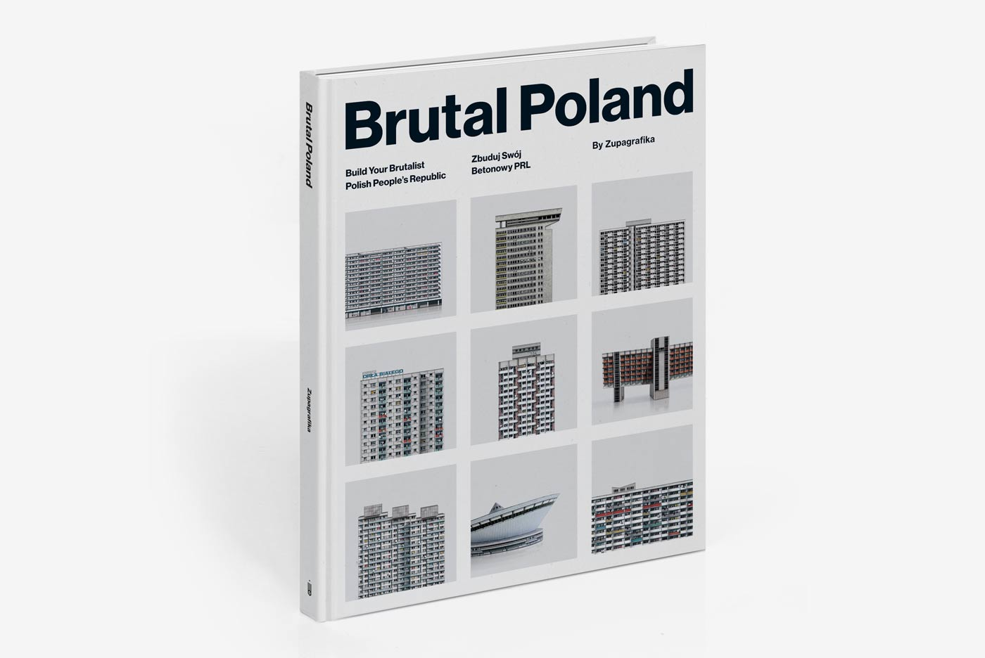 Brutal Poland by Zupagrafika. A book on Brutalism in the former PRL