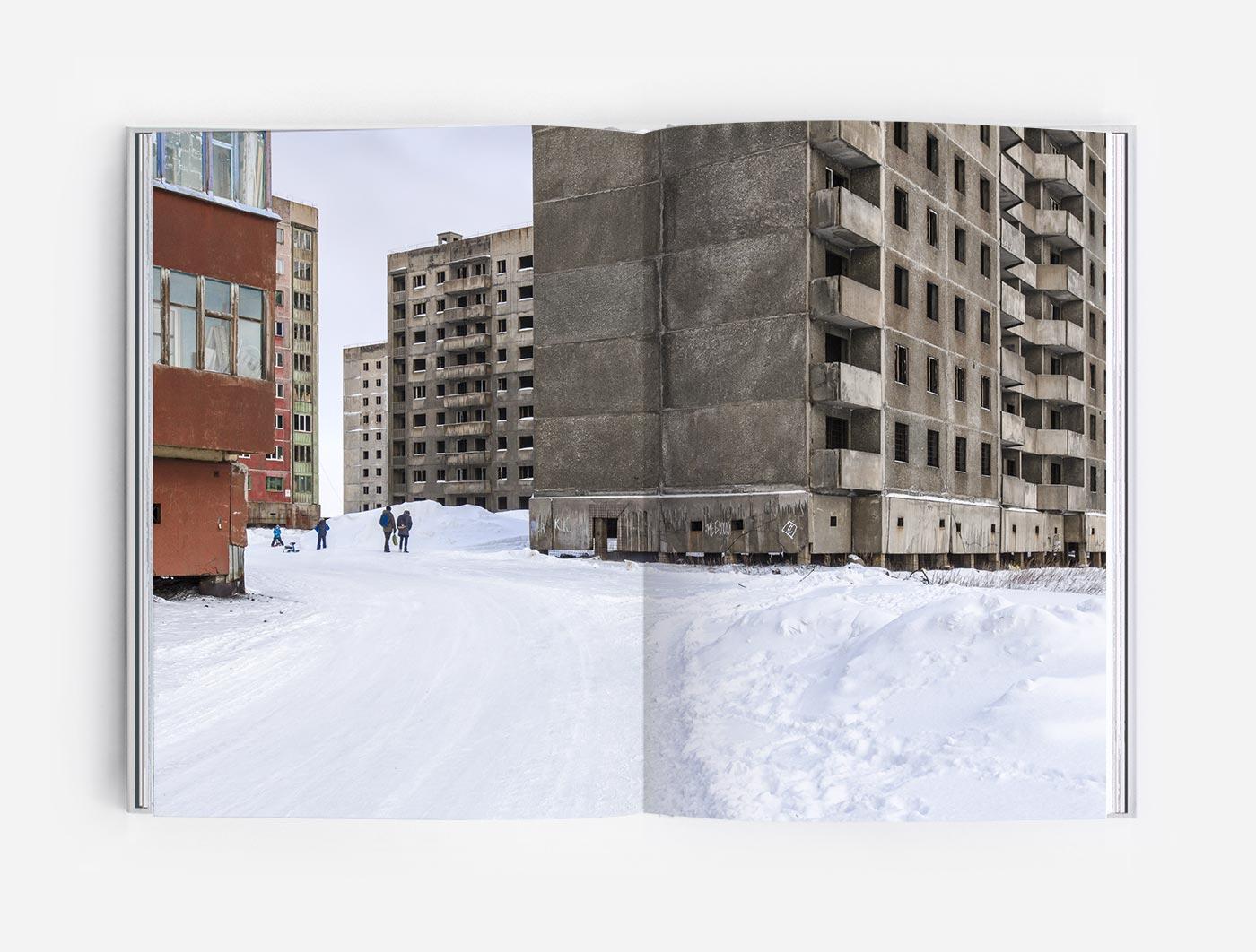 Oganer microrayon in Norilsk