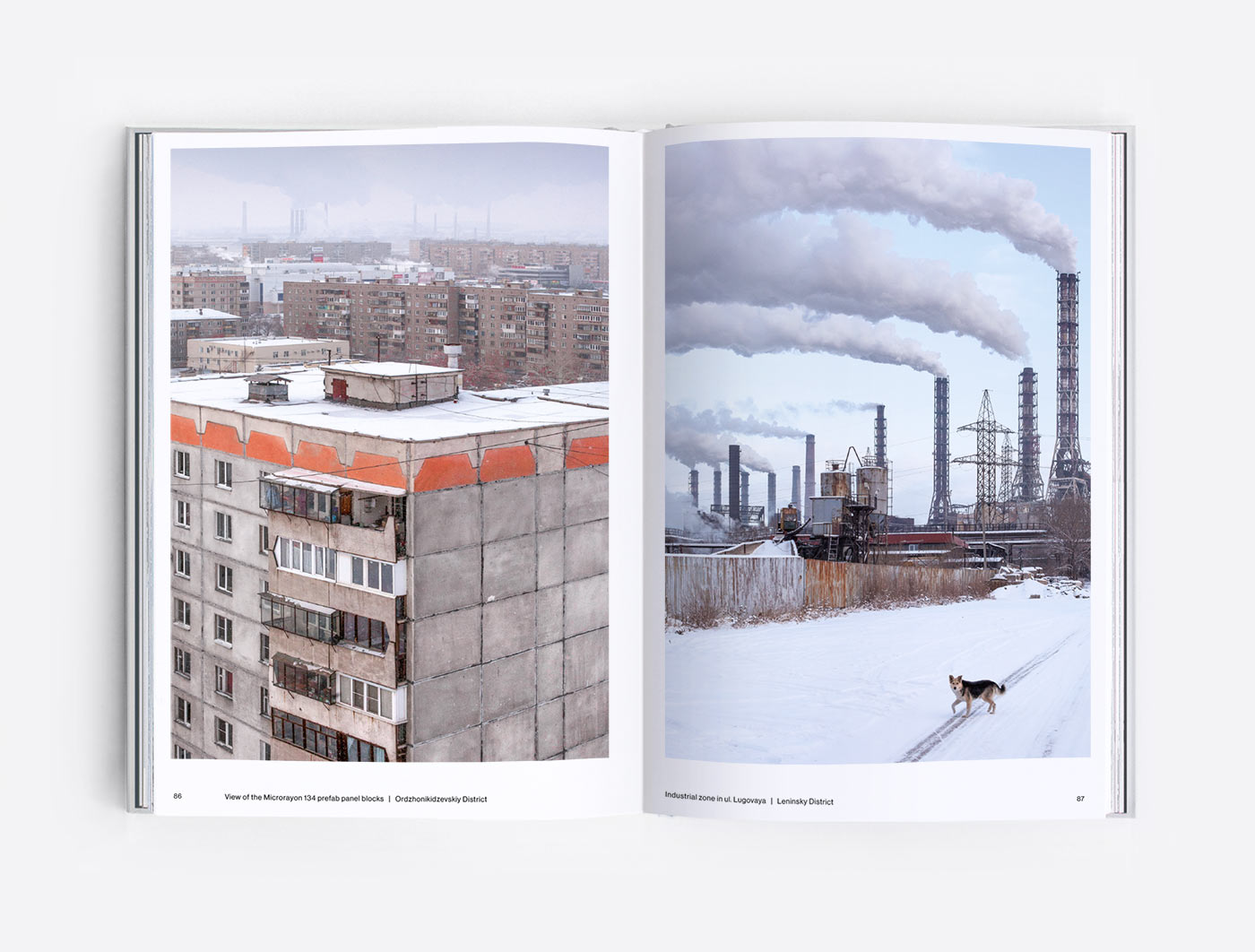 Industrial landscapes of Magnitogorsk