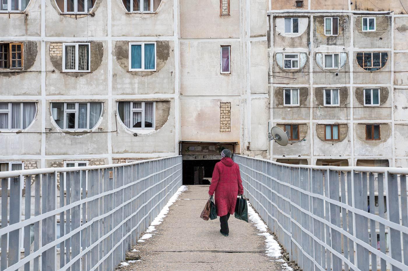 'Sky-Bridge' Housing Estate in Tbilisi, Georgia