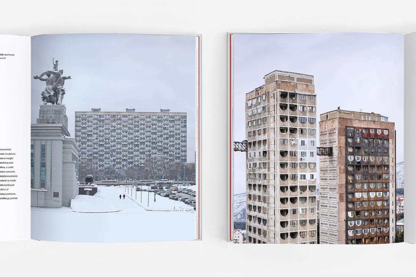 Spreads of the book Brutal East Volume II