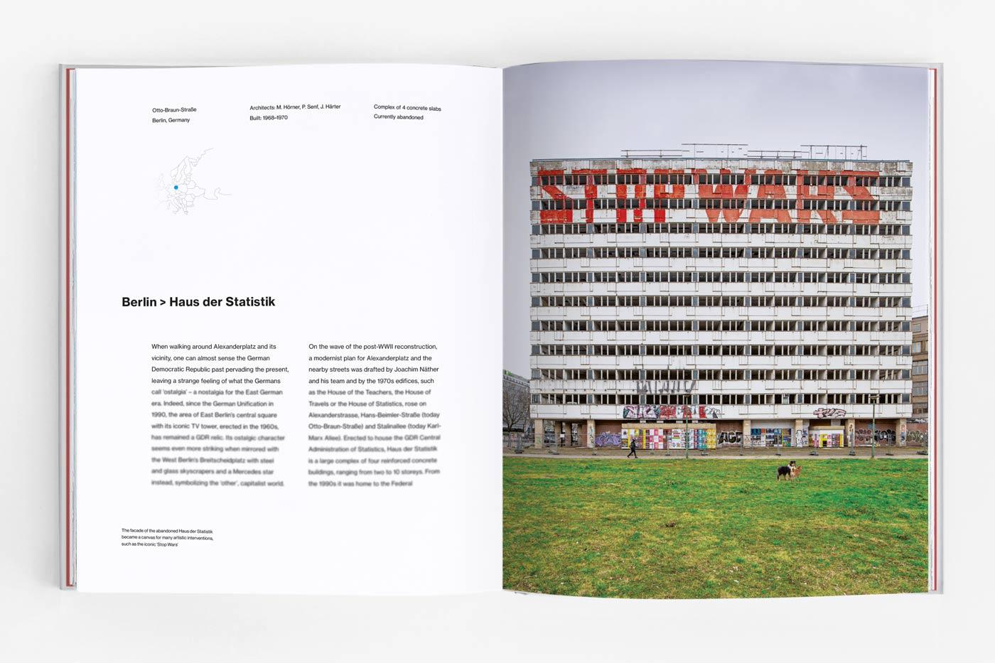 Haus der Statistik in Berlin, Germany