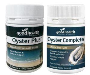 10. Thuốc bổ sung kẽm tinh chất hàu Goodhealth Oyster Complete