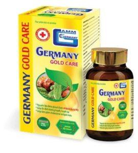 Germany Gold Care : Ổn định huyết áp, khắc phục tận gốc nhồi máu và đột quỵ
