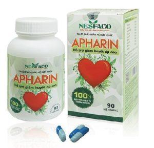 Thuốc huyết áp Apharin