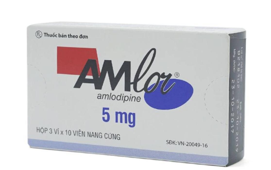 Lưu ý khi dùng thuốc huyết áp Amlor | Vinmec