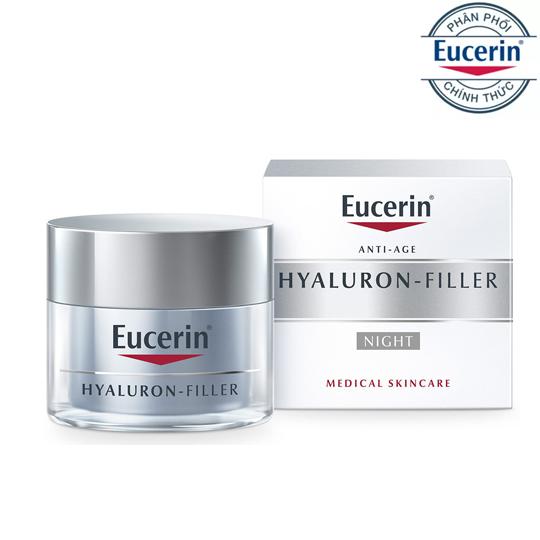 7.Kem ngăn ngừa lão hoá ban đêm Eucerin Hyaluron-Filler Night Cream 50ml