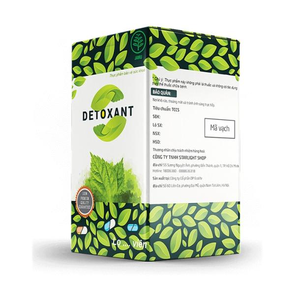 Thuốc Detoxant diệt ký sinh trùng, giun sán, ấu trùng