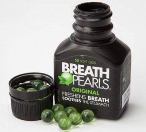 2.Thuốc trị hôi miệng Breath Pearls