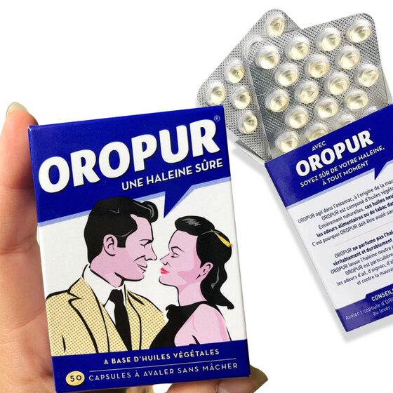 Viên uống chống hôi miệng Oropur 50 viên – chính hãng từ Pháp - Shop  VnExpress
