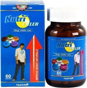 10.Viên uống tăng chiều cao Nutrivita NutriTaller